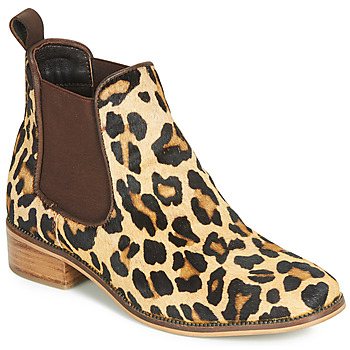 Παπούτσια Γυναίκα Μπότες Ravel GISBORNE Leopard