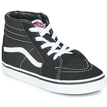 Παπούτσια Παιδί Ψηλά Sneakers Vans TD SK8-HI Black / Άσπρο