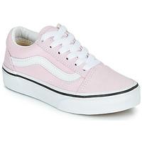 Παπούτσια Κορίτσι Χαμηλά Sneakers Vans UY OLD SKOOL Ροζ