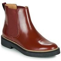 Παπούτσια Γυναίκα Μπότες Kickers OXFORDCHIC Red / Fonce