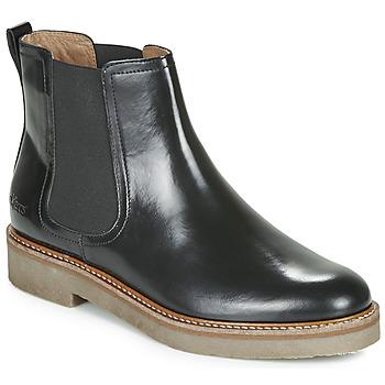 Παπούτσια Γυναίκα Μπότες Kickers OXFORDCHIC Black