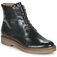 Παπούτσια Γυναίκα Μπότες Kickers OXIGENO Black
