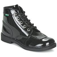 Παπούτσια Γυναίκα Μπότες Kickers KICK COL Black / Verni