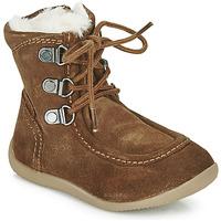 Παπούτσια Παιδί Μπότες για την πόλη Kickers BAMARA Camel
