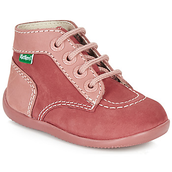 Παπούτσια Κορίτσι Μπότες Kickers BONBON Ροζ