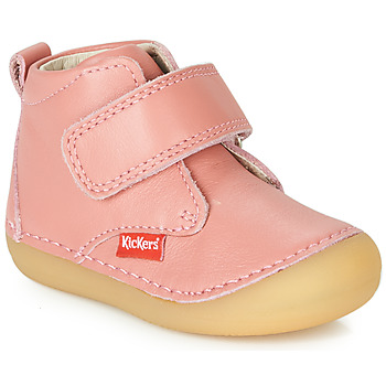 Παπούτσια Κορίτσι Μπότες Kickers SABIO Ροζ
