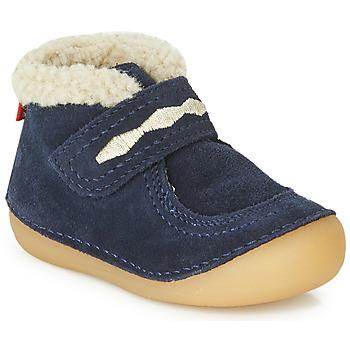 Παπούτσια Παιδί Μπότες Kickers SOETNIC Marine