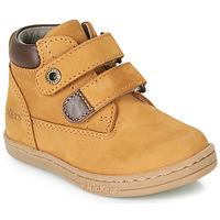Παπούτσια Αγόρι Μπότες Kickers TACKEASY Camel / Brown