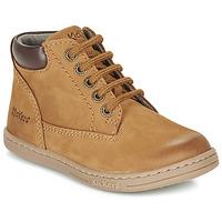 Παπούτσια Αγόρι Μπότες Kickers TACKLAND Camel