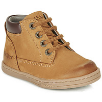 Παπούτσια Αγόρι Μπότες Kickers TACKLAND Camel / Brown