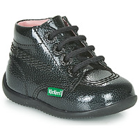 Παπούτσια Κορίτσι Μπότες Kickers BILLISTA ZIP Black