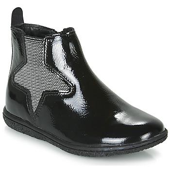 Παπούτσια Κορίτσι Μπότες Kickers VERMILLON Black