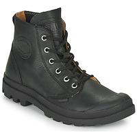 Παπούτσια Μπότες Palladium PAMPA HI LTH UL Black