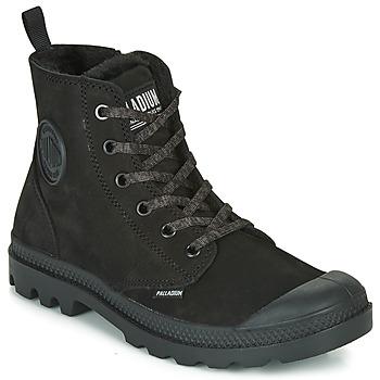 Παπούτσια Γυναίκα Μπότες Palladium PAMPA HI ZIP WL Black