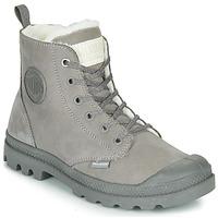 Παπούτσια Γυναίκα Μπότες Palladium PAMPA HI ZIP WL Grey