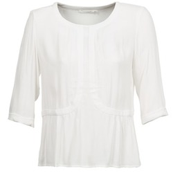 Υφασμάτινα Γυναίκα Μπλούζες See U Soon CABRILA Άσπρο