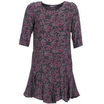 Υφασμάτινα Γυναίκα Κοντά Φορέματα See U Soon BOETICO Black / Violet