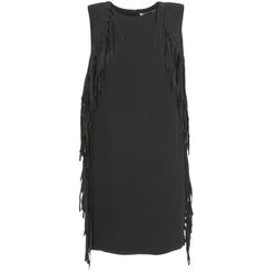 Υφασμάτινα Γυναίκα Κοντά Φορέματα See U Soon LOUBIRA Black