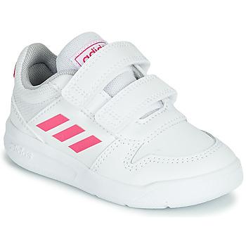 Παπούτσια Κορίτσι Χαμηλά Sneakers adidas Performance VECTOR I Άσπρο / Ροζ