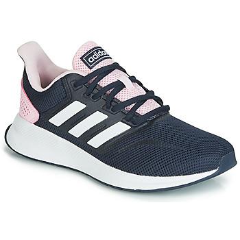 Παπούτσια Γυναίκα Χαμηλά Sneakers adidas Performance RUNFALCON Black / Ροζ