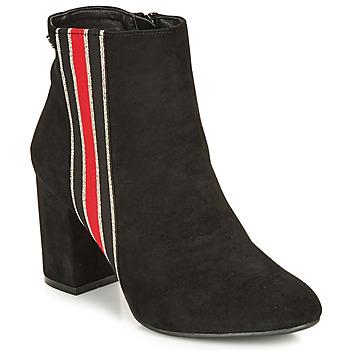 Παπούτσια Γυναίκα Μποτίνια Refresh 69113-BLACK Black
