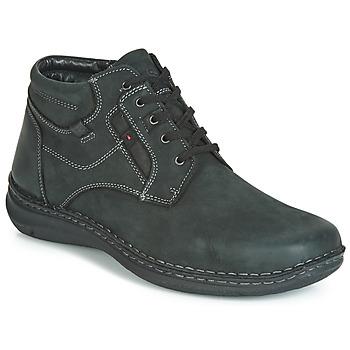 Παπούτσια Άνδρας Μπότες Josef Seibel ANVERS 35 Black