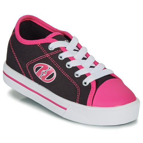 Παπούτσια Κορίτσι roller shoes Heelys CLASSIC X2 Black / Ροζ