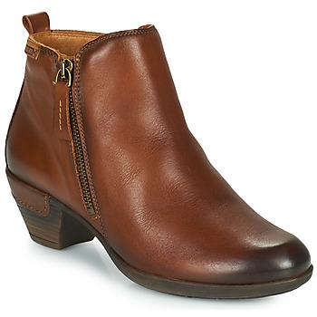 Παπούτσια Γυναίκα Μποτίνια Pikolinos ROTTERDAM 902 Cognac