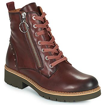 Παπούτσια Γυναίκα Μπότες Pikolinos VICAR W0V Brown