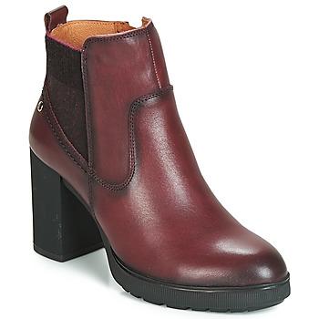 Παπούτσια Γυναίκα Μποτίνια Pikolinos SAGUNTO W4Z Brown