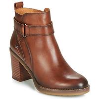Παπούτσια Γυναίκα Μποτίνια Pikolinos POMPEYA W9T Brown