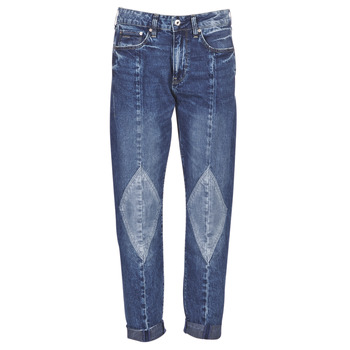 Υφασμάτινα Γυναίκα Boyfriend jeans G-Star Raw 3301-L MID BOYFRIEND DIAMOND Μπλέ / Light / Vintage / Aged