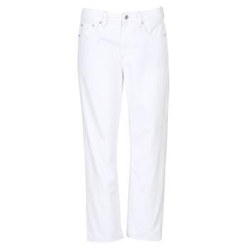 Υφασμάτινα Γυναίκα Boyfriend jeans G-Star Raw 3301 MID BOYFRIEND 7/8 Άσπρο