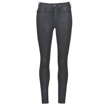 Υφασμάτινα Γυναίκα Skinny jeans G-Star Raw ASHTIX ZIP HIGH SUPER SKINNY ANKLE WMN Black