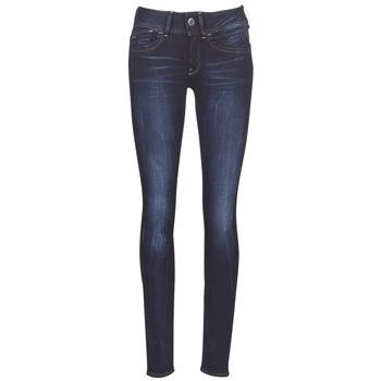 Υφασμάτινα Γυναίκα Skinny jeans G-Star Raw LYNN MID SKINNY WMN Μπλέ / Faded / Mπλε