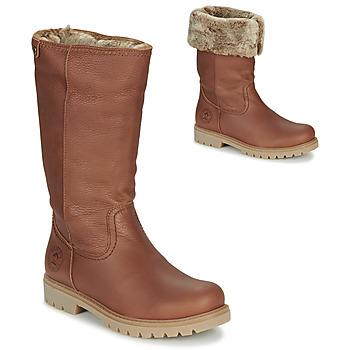 Παπούτσια Γυναίκα Μπότες για την πόλη Panama Jack BAMBINA Brown