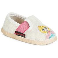 Παπούτσια Κορίτσι Παντόφλες Giesswein THURNAU Beige