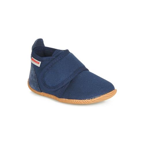 Παπούτσια Αγόρι Παντόφλες Giesswein STRASS SLIM FIT Marine