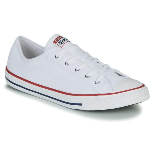 Παπούτσια Γυναίκα Χαμηλά Sneakers Converse CHUCK TAYLOR ALL STAR DAINTY GS  CANVAS OX Άσπρο
