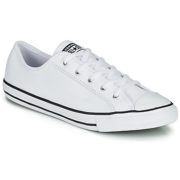 Παπούτσια Γυναίκα Χαμηλά Sneakers Converse CHUCK TAYLOR ALL STAR DAINTY GS  LEATHER OX Άσπρο