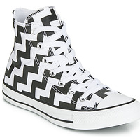 Παπούτσια Γυναίκα Ψηλά Sneakers Converse CHUCK TAYLOR ALL STAR GLAM DUNK CANVAS HI Black / Άσπρο