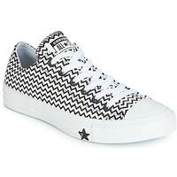 Παπούτσια Γυναίκα Χαμηλά Sneakers Converse CHUCK TAYLOR ALL STAR VLTG LEATHER OX Άσπρο / Black