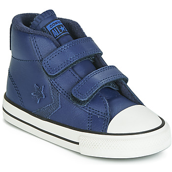 Παπούτσια Παιδί Ψηλά Sneakers Converse STAR PLAYER 2V ASTEROID LEATHER HI Μπλέ