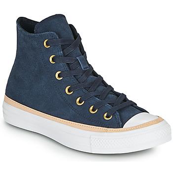 Παπούτσια Γυναίκα Ψηλά Sneakers Converse CHUCK TAYLOR ALL STAR VACHETTA LEATHER HI Marine
