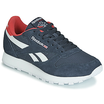 Παπούτσια Χαμηλά Sneakers Reebok Classic CL LEATHER MU Marine / Red