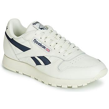 Παπούτσια Χαμηλά Sneakers Reebok Classic CL LEATHER MU Άσπρο / Black