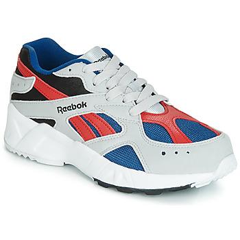 Παπούτσια Αγόρι Χαμηλά Sneakers Reebok Classic AZTREK J Grey / Red