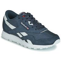 Παπούτσια Παιδί Χαμηλά Sneakers Reebok Classic CL NYLON J Marine / Άσπρο