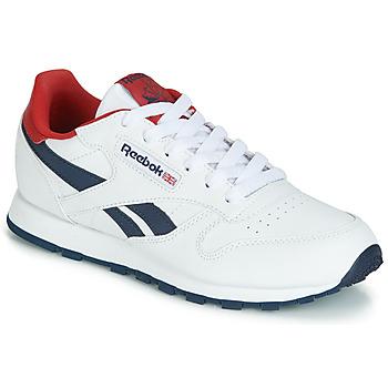 Παπούτσια Παιδί Χαμηλά Sneakers Reebok Classic CLASSIC LEATHER J Άσπρο / Red