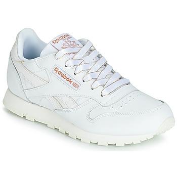 Παπούτσια Κορίτσι Χαμηλά Sneakers Reebok Classic CLASSIC LEATHER J Άσπρο / Glitter